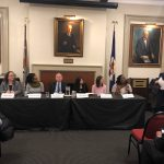 FFJC Co-Director Joanna Weiss moderates a New York City Bar Association panel about New York's mandatory surcharges.