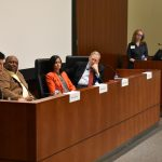 FFJC Co-Director Lisa Foster speaks at a New York Law School panel about the criminalization of poverty.