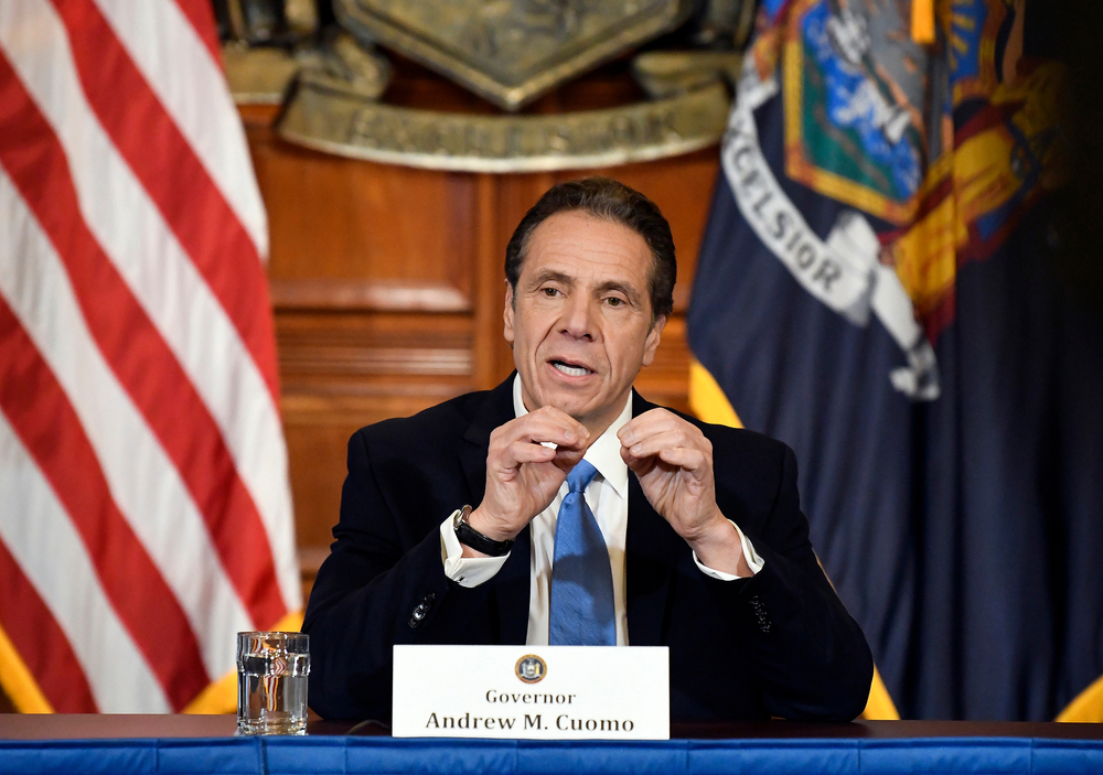Gov. Andrew Cuomo at State Capital